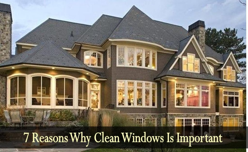Why clean windows is important.