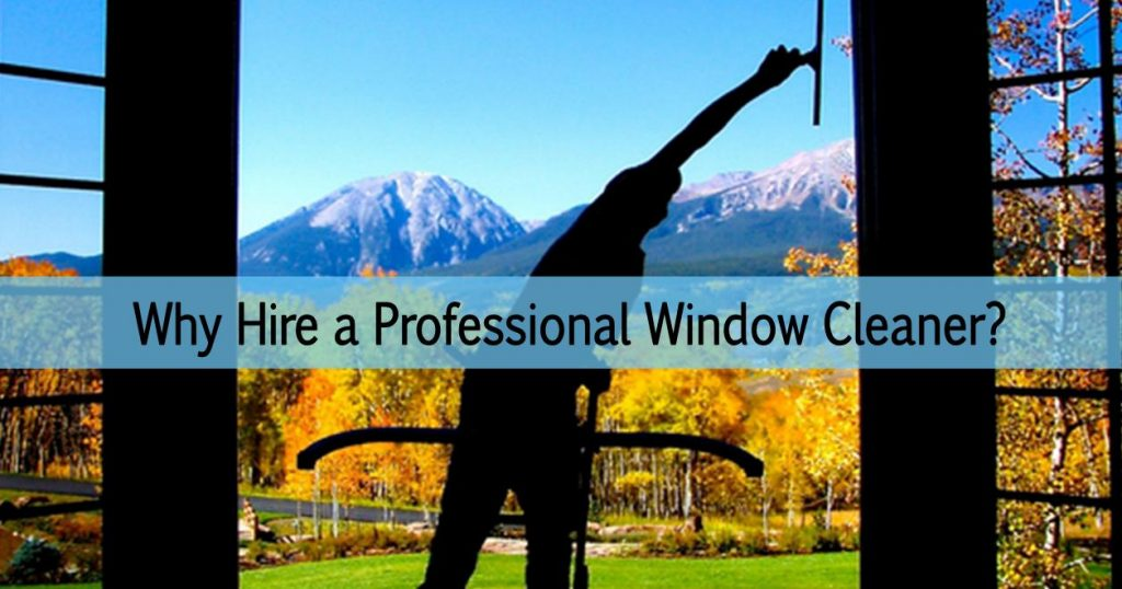Why hire professional window washers