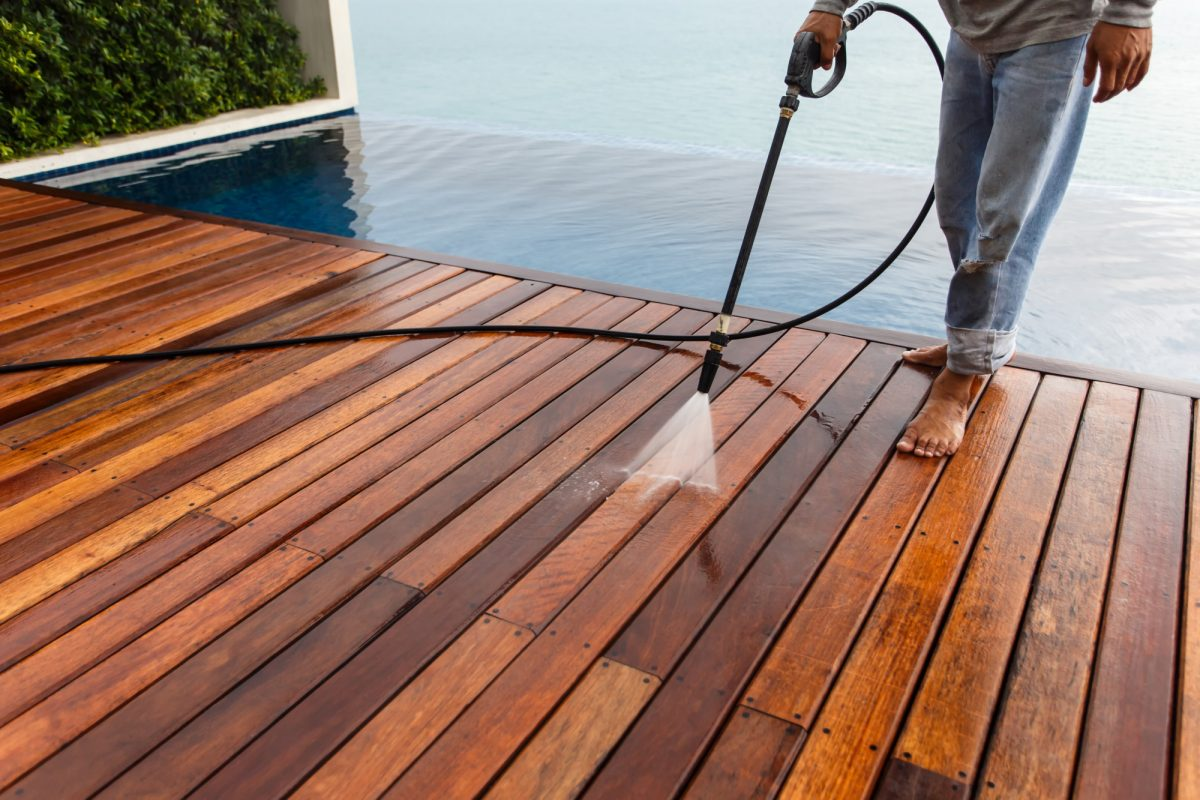 Deck Maintenance: How Power Washing and Care Extends a Deck's Lifespan