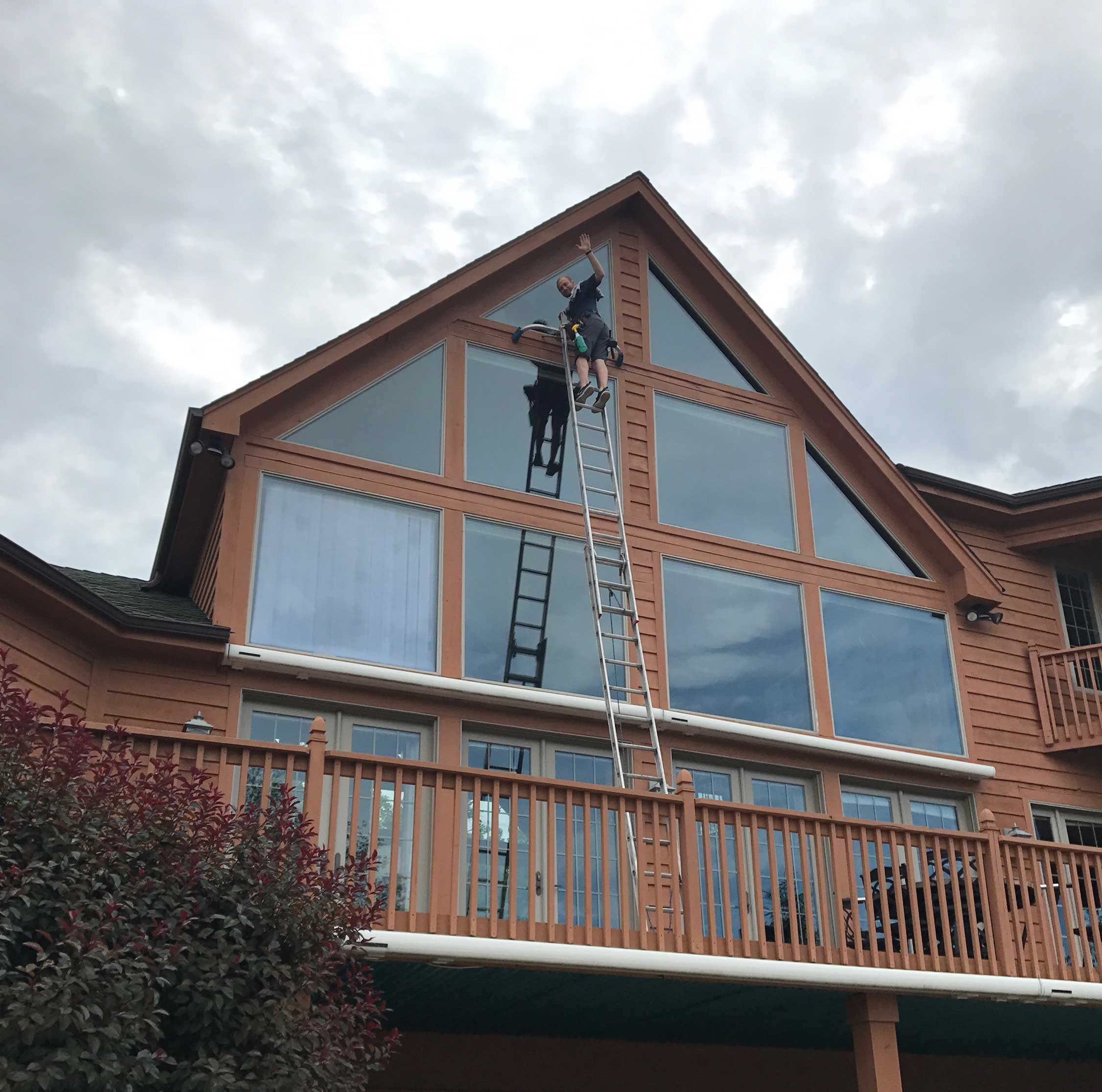 Window Cleaning 3rd level